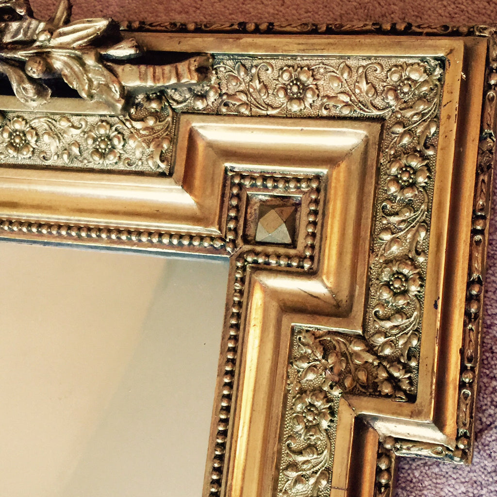 19th Century French Mirror - Frame Detail  - 4