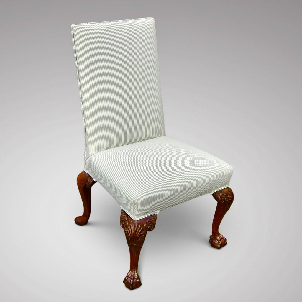 Pair of George II Style Side Chairs - Single Chair View-3