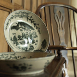 Pair of 18th Century Chinese Swatow Dishes -Main Image-1