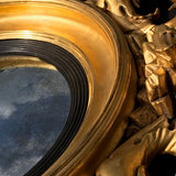 Regency Carved & Gilded Convex Mirror - Detail View - 4