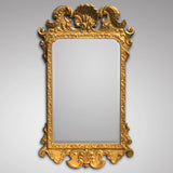 George III Carved & Gilded Rectangular Mirror - Main View - 1
