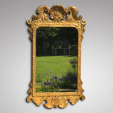 George III Carved & Gilded Rectangular Mirror - Main View - 2