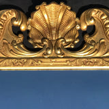 George III Carved & Gilded Rectangular Mirror - Detail View - 3