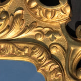 George III Carved & Gilded Rectangular Mirror - Detail View - 4