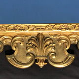 George III Carved & Gilded Rectangular Mirror - Detail View - 6