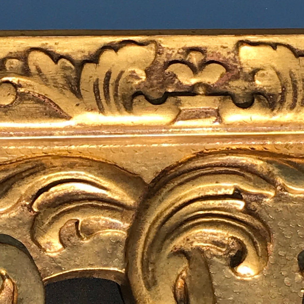 George III Carved & Gilded Rectangular Mirror - Detail View - 5