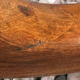 George III Mahogany Tilt Top Breakfast/Centre Table - Leg Detail View - 5