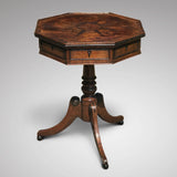 A Regency Oak Octagonal Table - Main View - 1