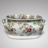 19th Century Floral Ceramic Footbath - Main View - 2