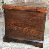 Early 19th Century Elm Blanket Box - Side View - 2