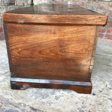 Early 19th Century Elm Blanket Box - Side View - 3