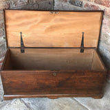 Early 19th Century Elm Blanket Box - Inside View - 5