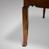 19th Century Fruitwood Extending Dining Table - Leg Detail View - 5