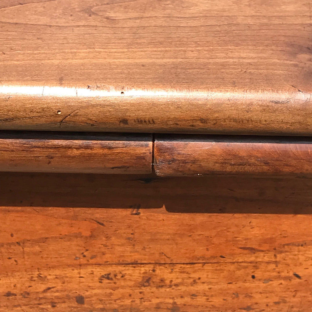 19th Century Fruitwood Extending Dining Table - Top Detail View - 10