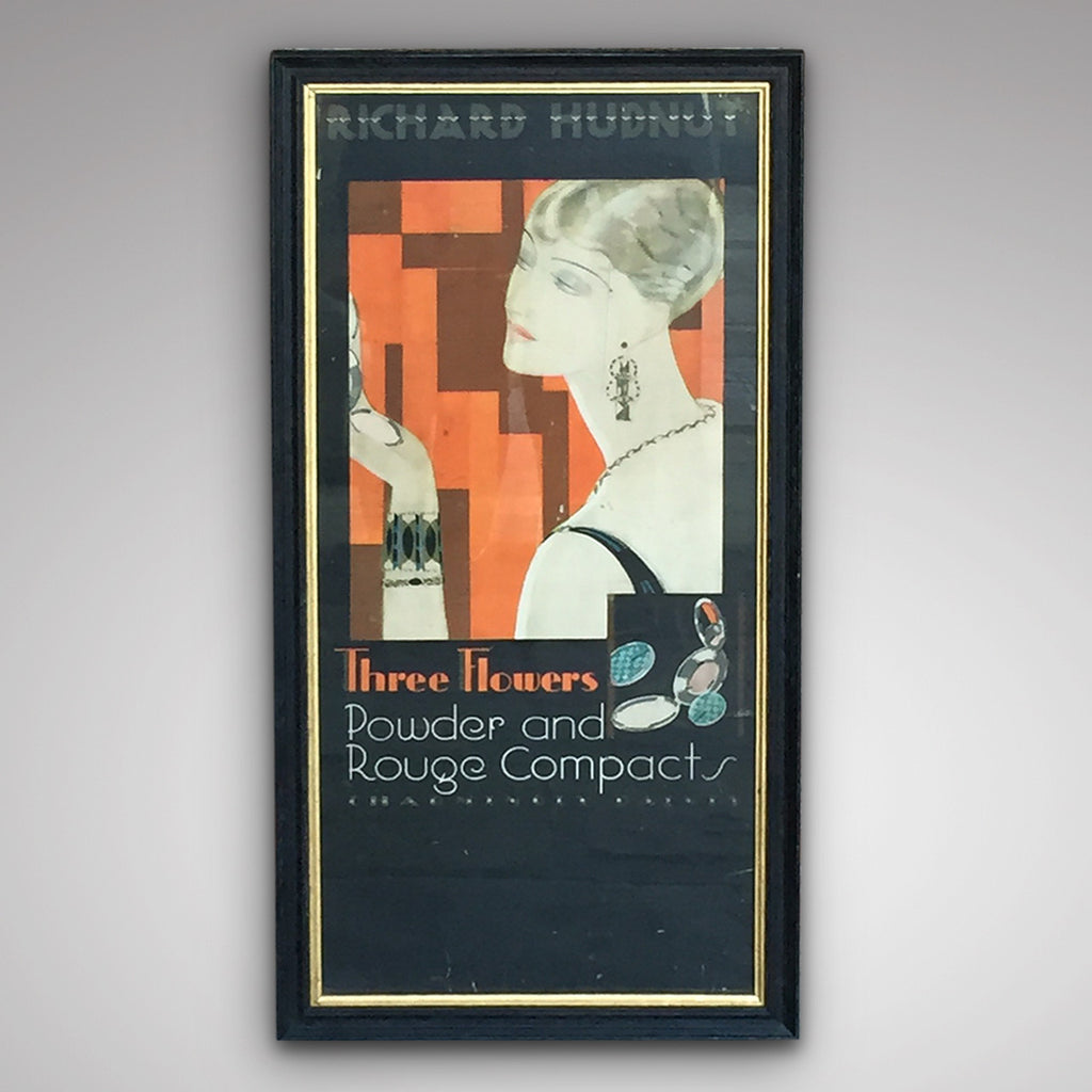 Art Deco Advertising Poster - Main View- 1