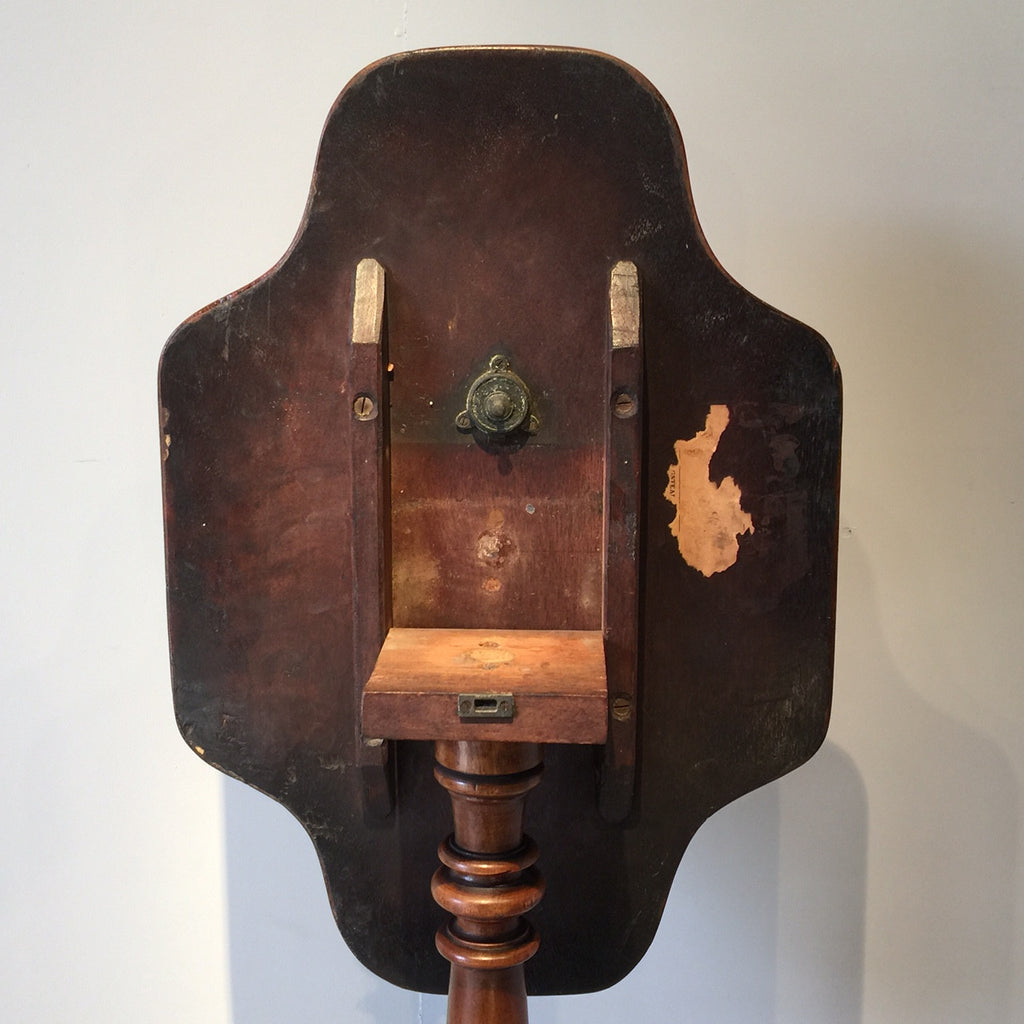19th Century Mahogany Tilt Top Table - View of Back - 6