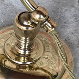 Early 20th Century Brass Desk Lamp - Adjustable Detail View - 3