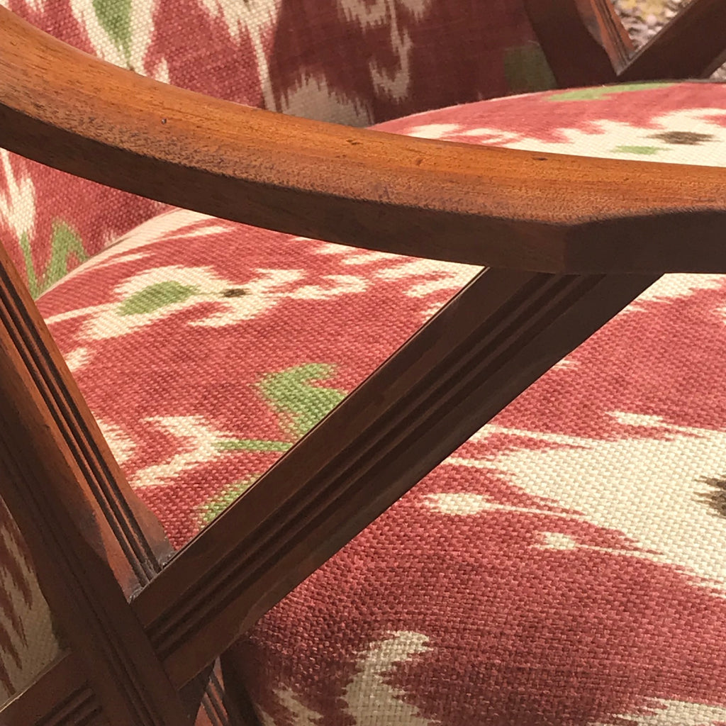Pair of 19th Century Aesthetic Period Chairs - Detail View - 6