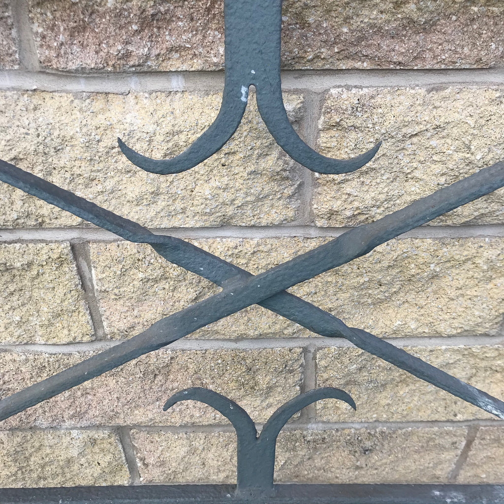 Victorian Wrought Iron Garden Gate - Detail View - 8