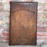 Enormous 19th Century Elm Gingerbread Mold - Back View - 6
