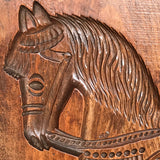 Enormous 19th Century Elm Gingerbread Mold - Detail View - 4