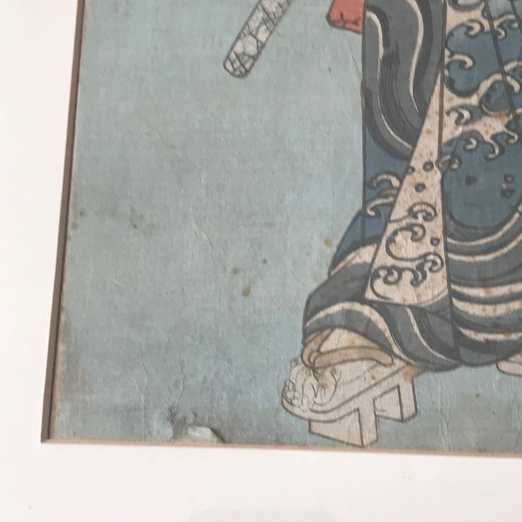 Set of 19th Century Japanese Woodblock Prints - Detail View - 7