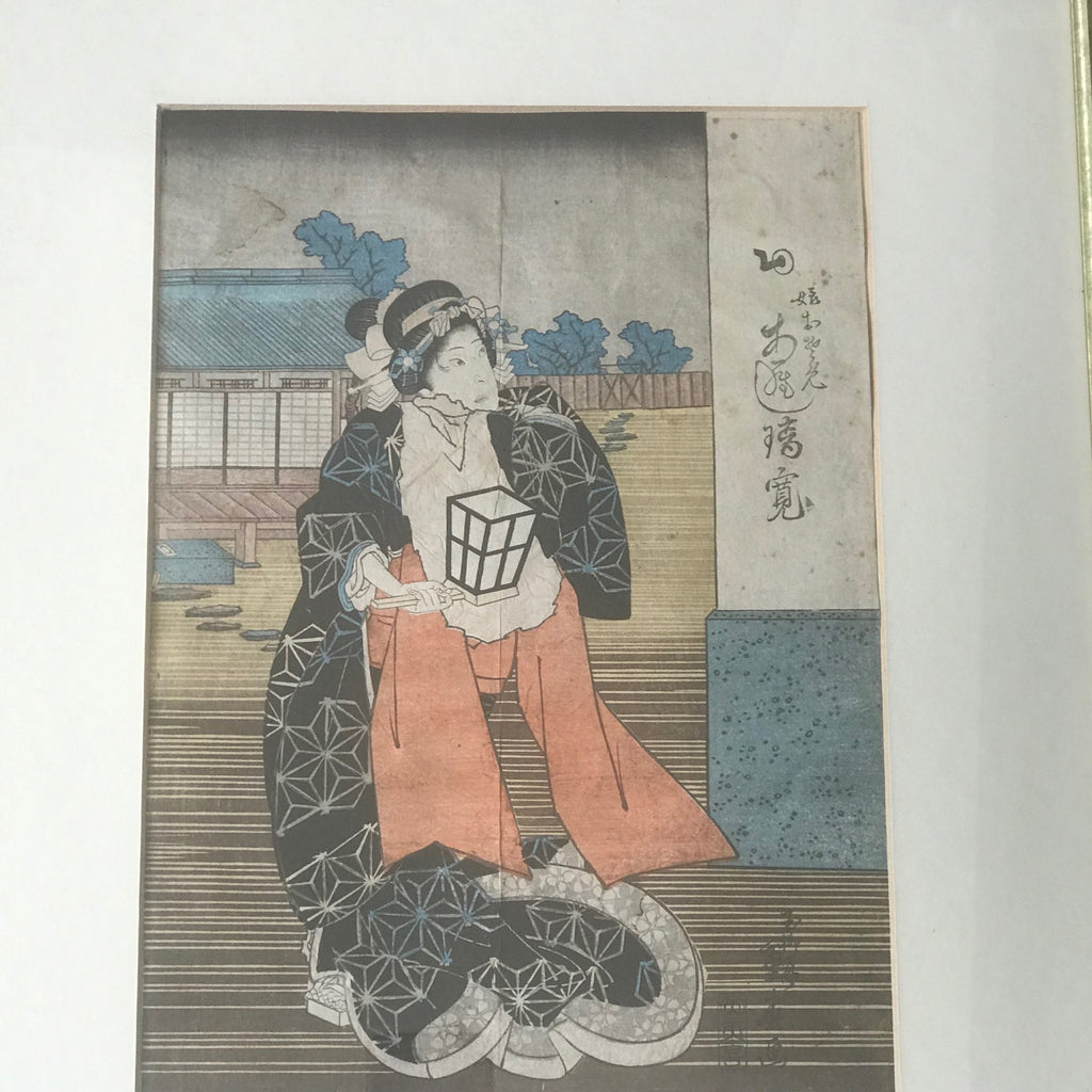 Set of 19th Century Japanese Woodblock Prints - Main View - 2
