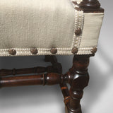 Late 19th Century Open Armchair - Corner detail view 1