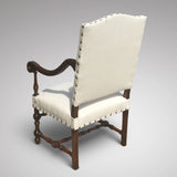 Late 19th Century Open Armchair - Back view 1