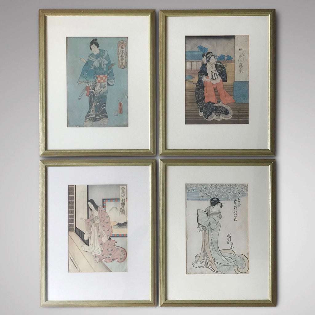 Set of 19th Century Japanese Woodblock Prints - Main View - 1