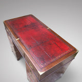 19th Century Mahogany Campaign Desk - Top view