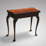 George II Mahogany Tea Table - Back View - 6