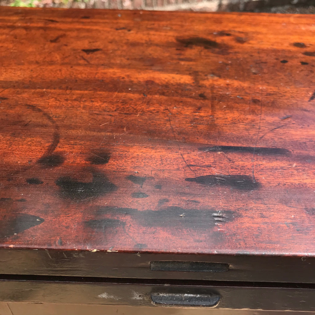 George II Mahogany Tea Table - Detail View - 5