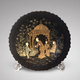 Victorian Chinoiserie Papier Mache Charger - Hobson May Collection - 1