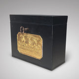 Victorian Tin Box with Hinged Lid - Hobson May Collection - 2