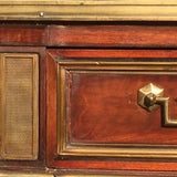 French Empire Mahogany Console/Hall Table - Drawer detail view - 7