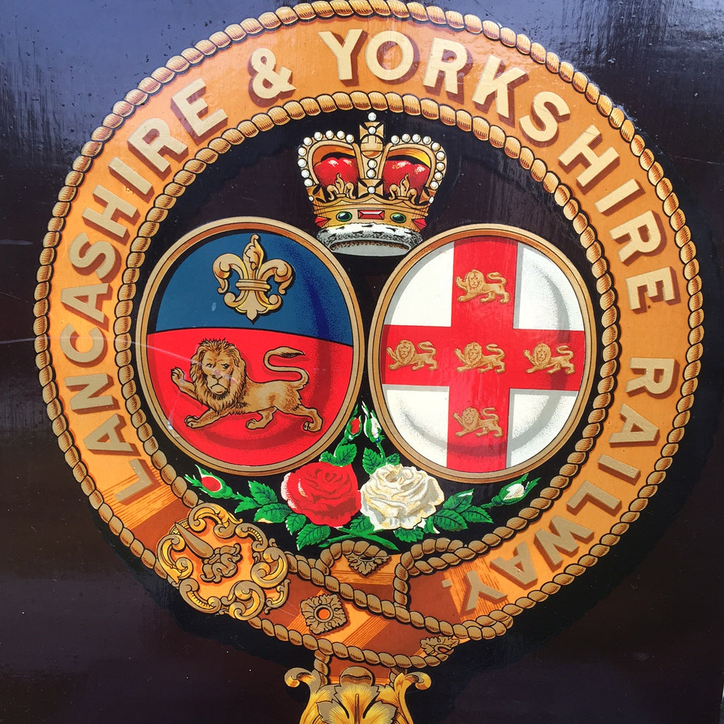Lancashire & Yorkshire Railway Coach Panel- Main View- 2