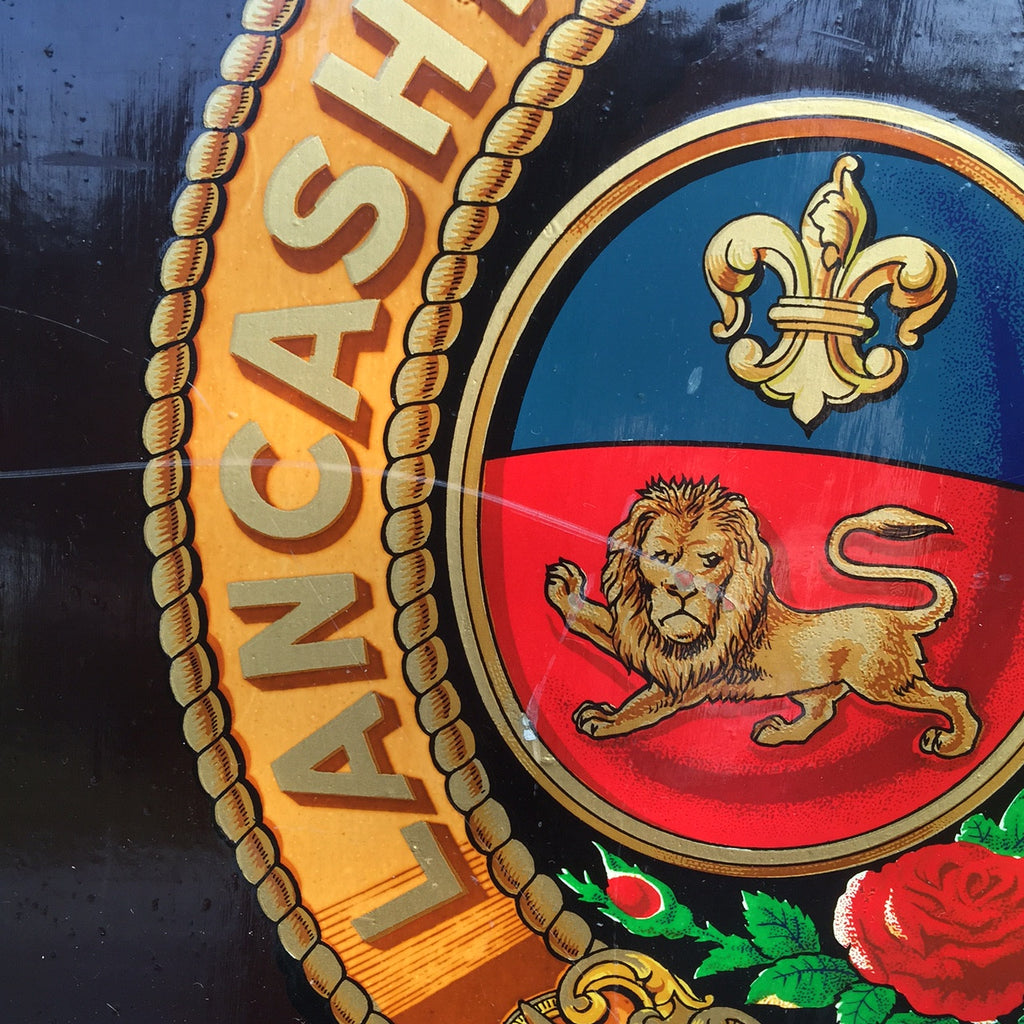 Lancashire & Yorkshire Railway Coach Panel - Detail View - 3