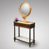 19th Century French Gilt Dressing Mirror - View of mirror on a table