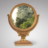 19th Century French Gilt Dressing Mirror - Front view 2