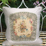 Over Size Wool and Silk Cushion - Main View - 1