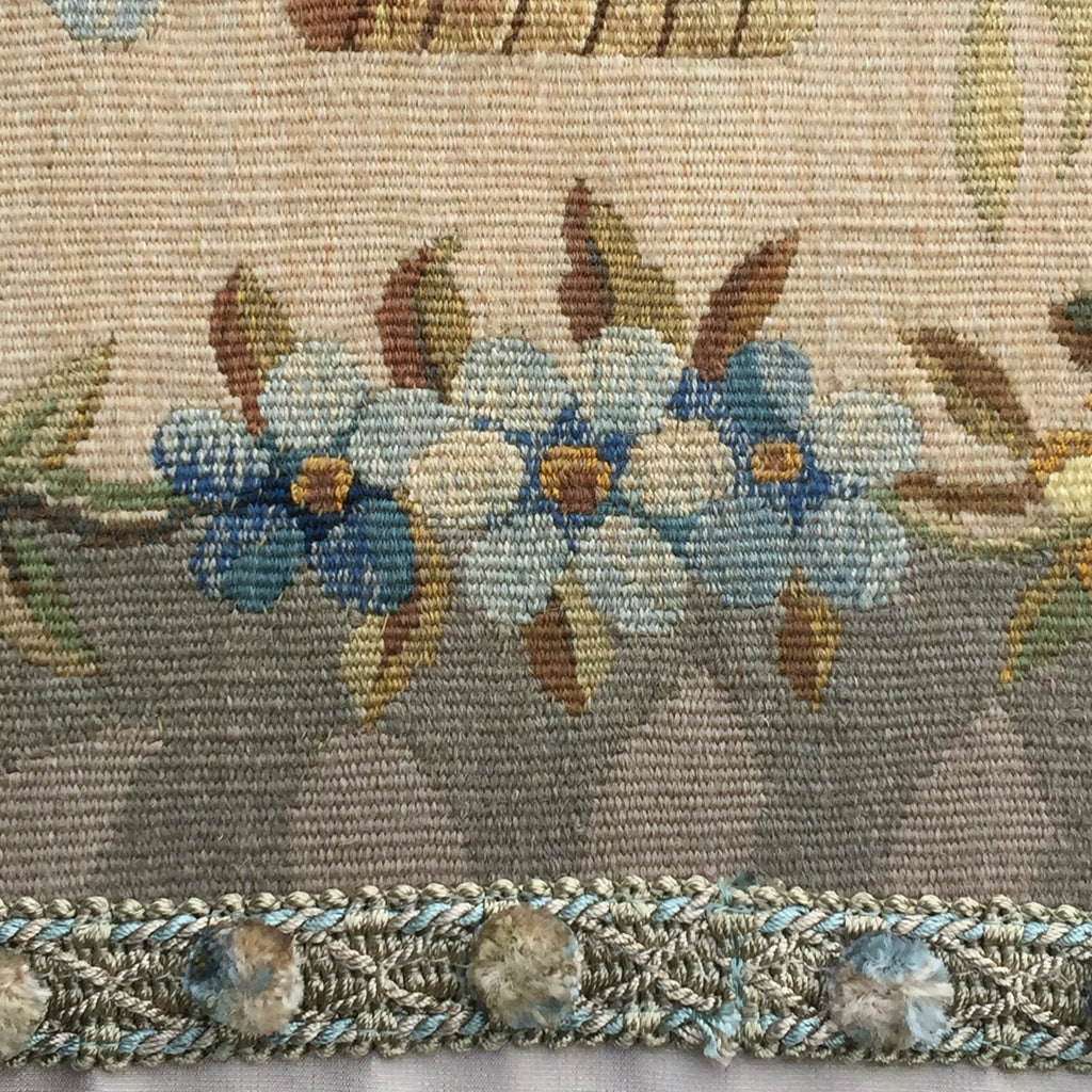 Over Size Wool and Silk Cushion - Detail View-5