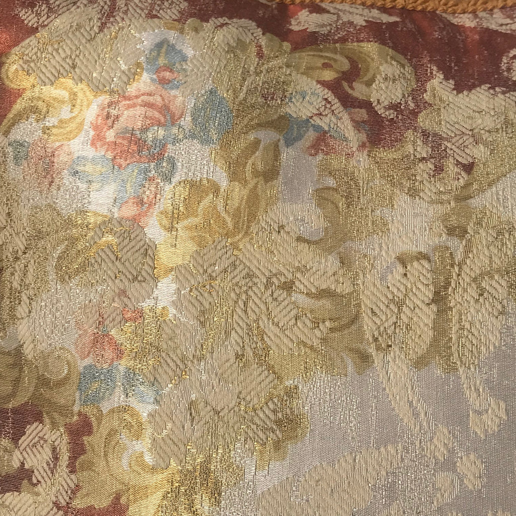 Pair of Large Silk Mulberry Cushions - Detail View - 3