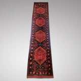 Superb Afghan Wool Runner - Main View - 2