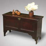 Early 18th Century Oak Coffer - Front and Side view- 1