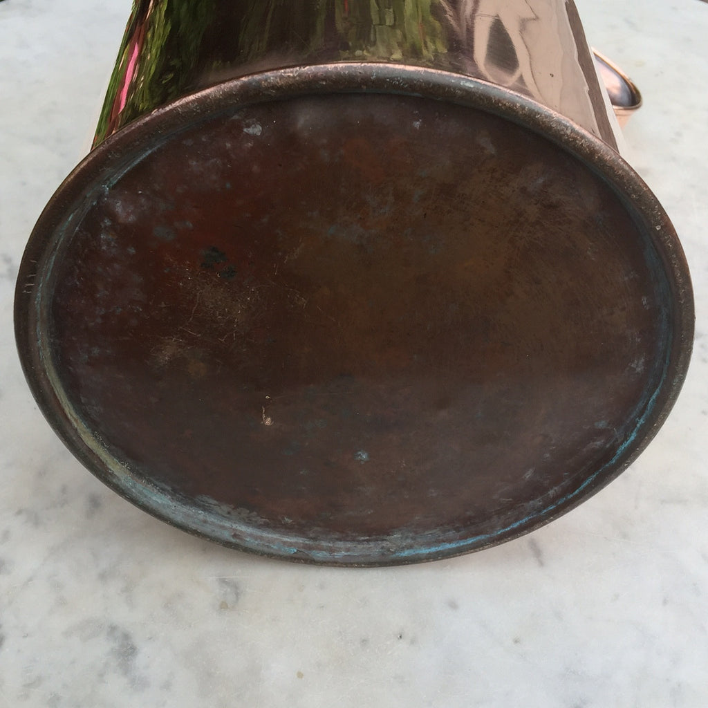 A Rare Copper Horlicks Advertising Jug - Underside View - 7