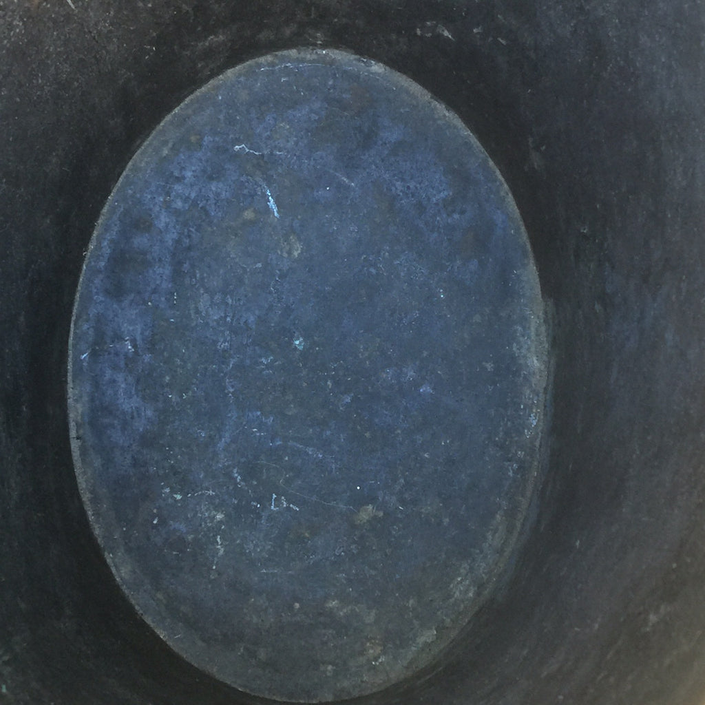 Georgian Oval Copper Peat Bucket - Inside View - 6