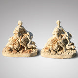 Pair of 19th Century Cast Iron Figures - Main View - 1