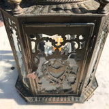 19th Century Dutch Octagonal Hall Lantern - Detail View - 3