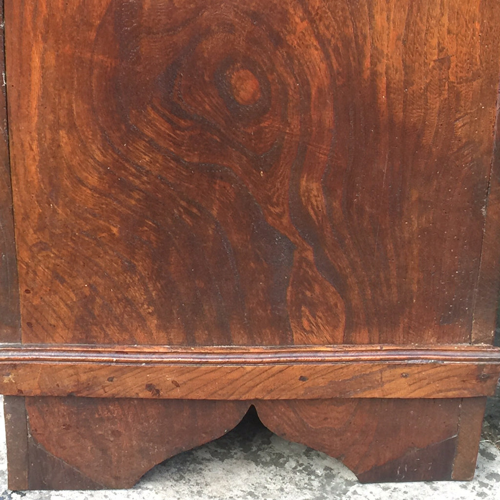 19th Century Elm Coffer -Side Detail View - 6